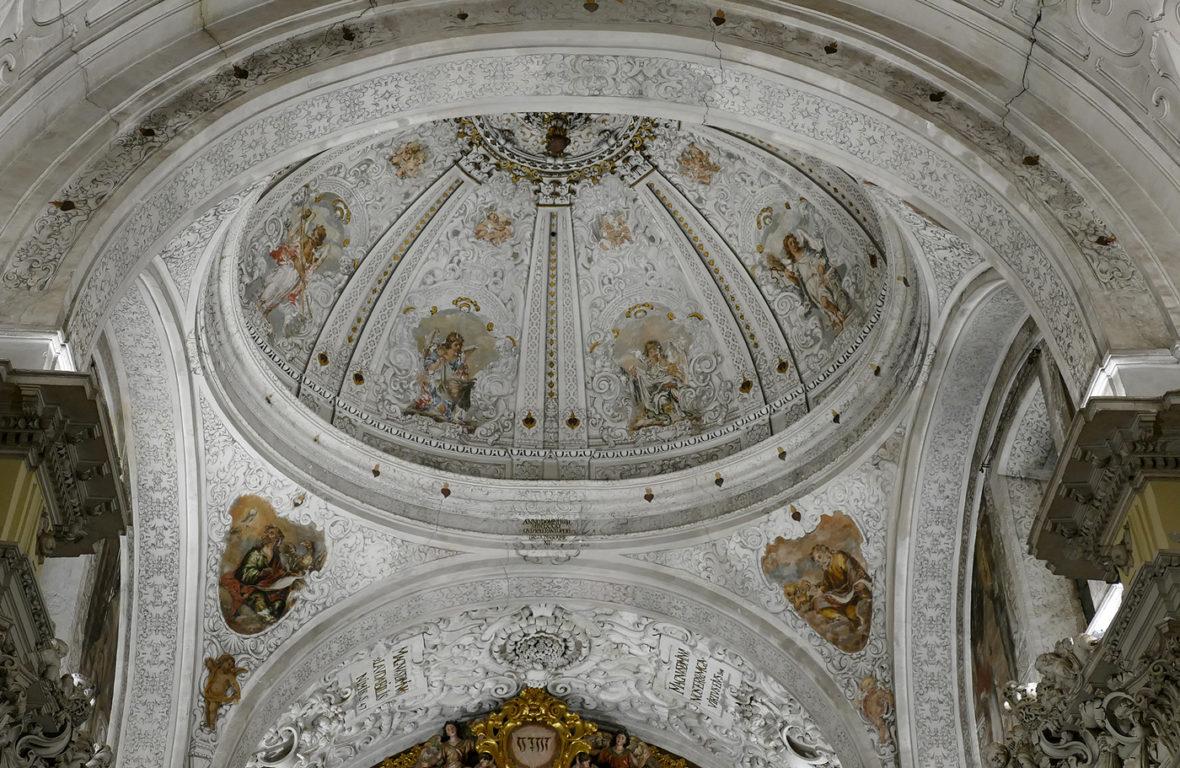 cupula iglesia san jorge sevilla