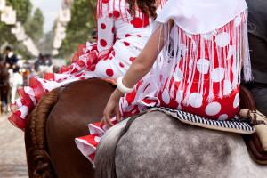 paseo caballos feria abril sevilla