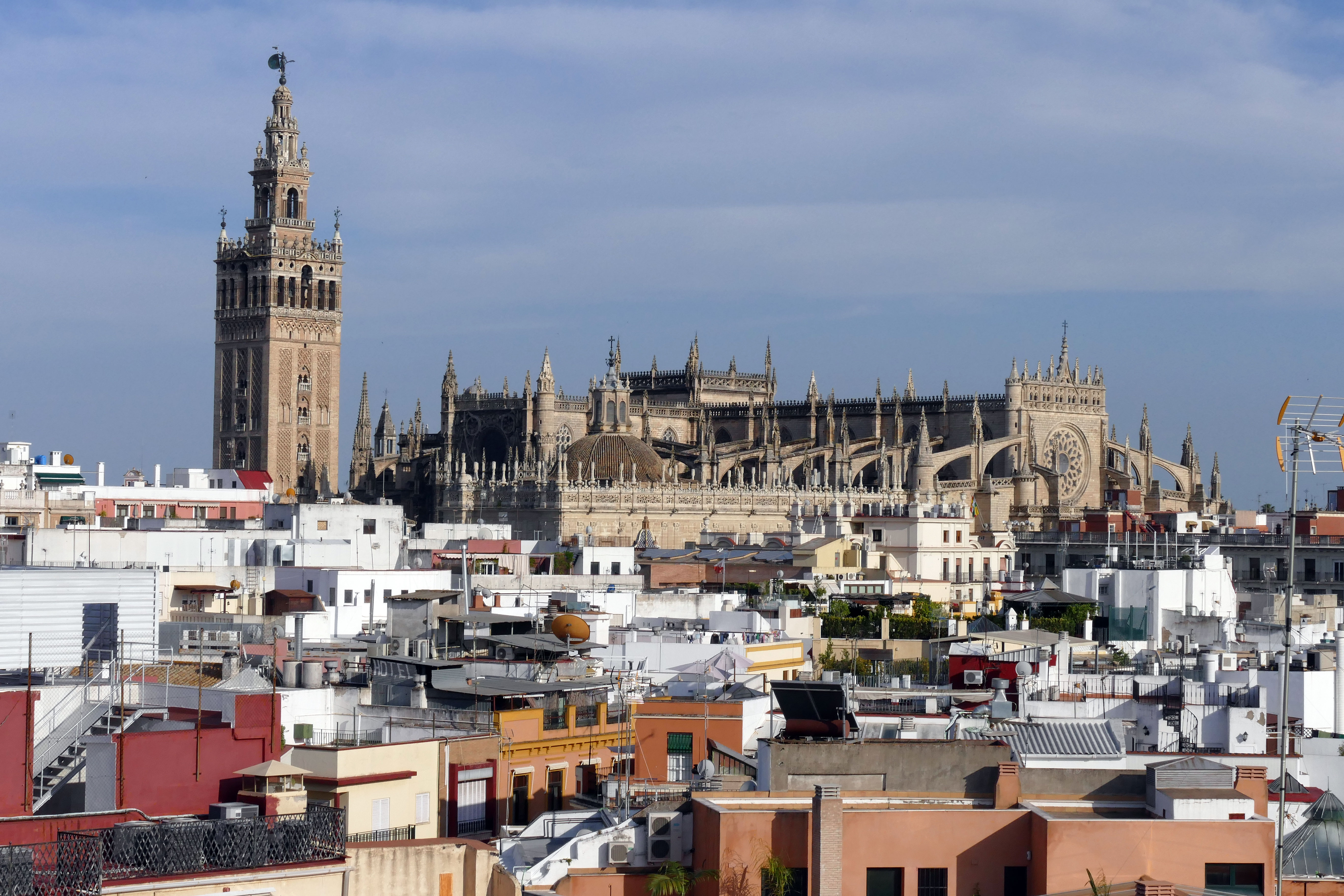 Catedral Terraza Hotel Inglaterra Sevilla City Centre
