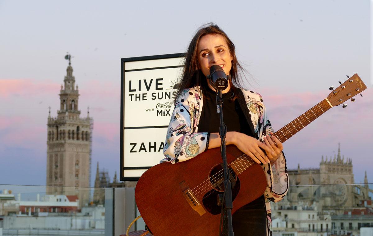 zahara pop concierto live roof sevilla