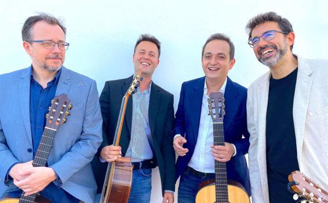 cuarteto guitarras andalucia