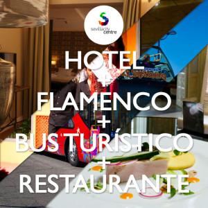hotel flamenco casa memoria bus turistico city sightseeing restaurante taberna alabardero sevilla