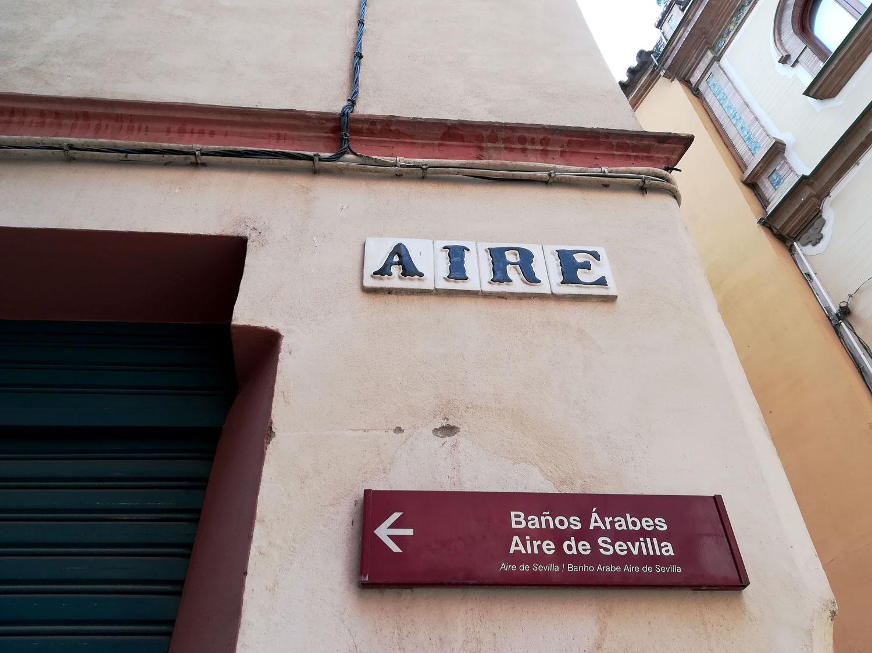 esquina calle aire sevilla
