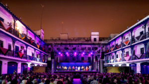 patio corral hotel triana bienal flamenco sevilla