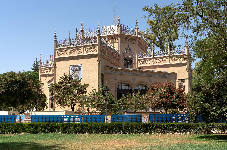 pabellon real parque maria luisa sevilla general