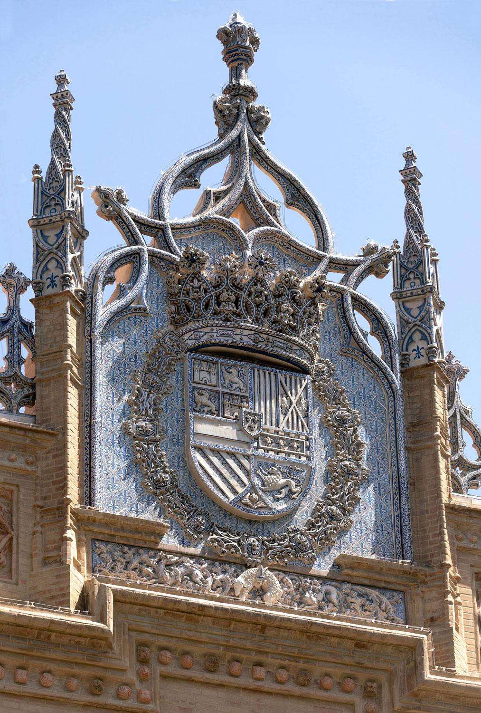 pabellon real parque maria luisa sevilla decoracion