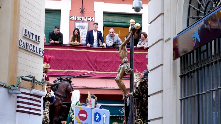 balcon city expert calle sierpes semana santa sevilla
