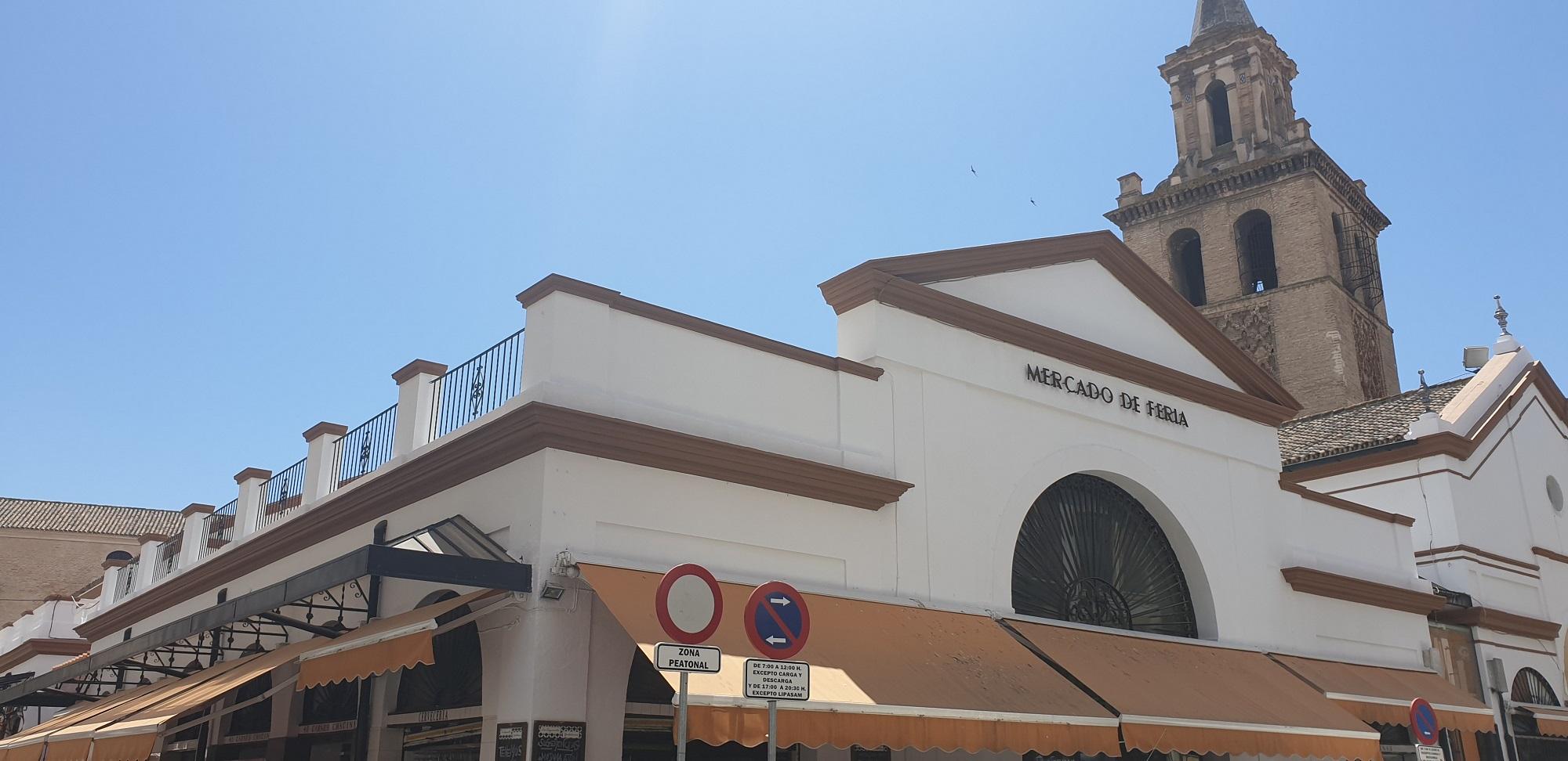 mercado calle feria sevilla
