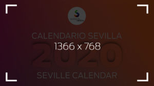 calendario sevilla city centre 2020 1366 768