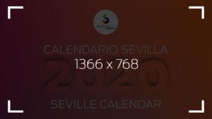 calendario sevilla city centre 2020 1366 768