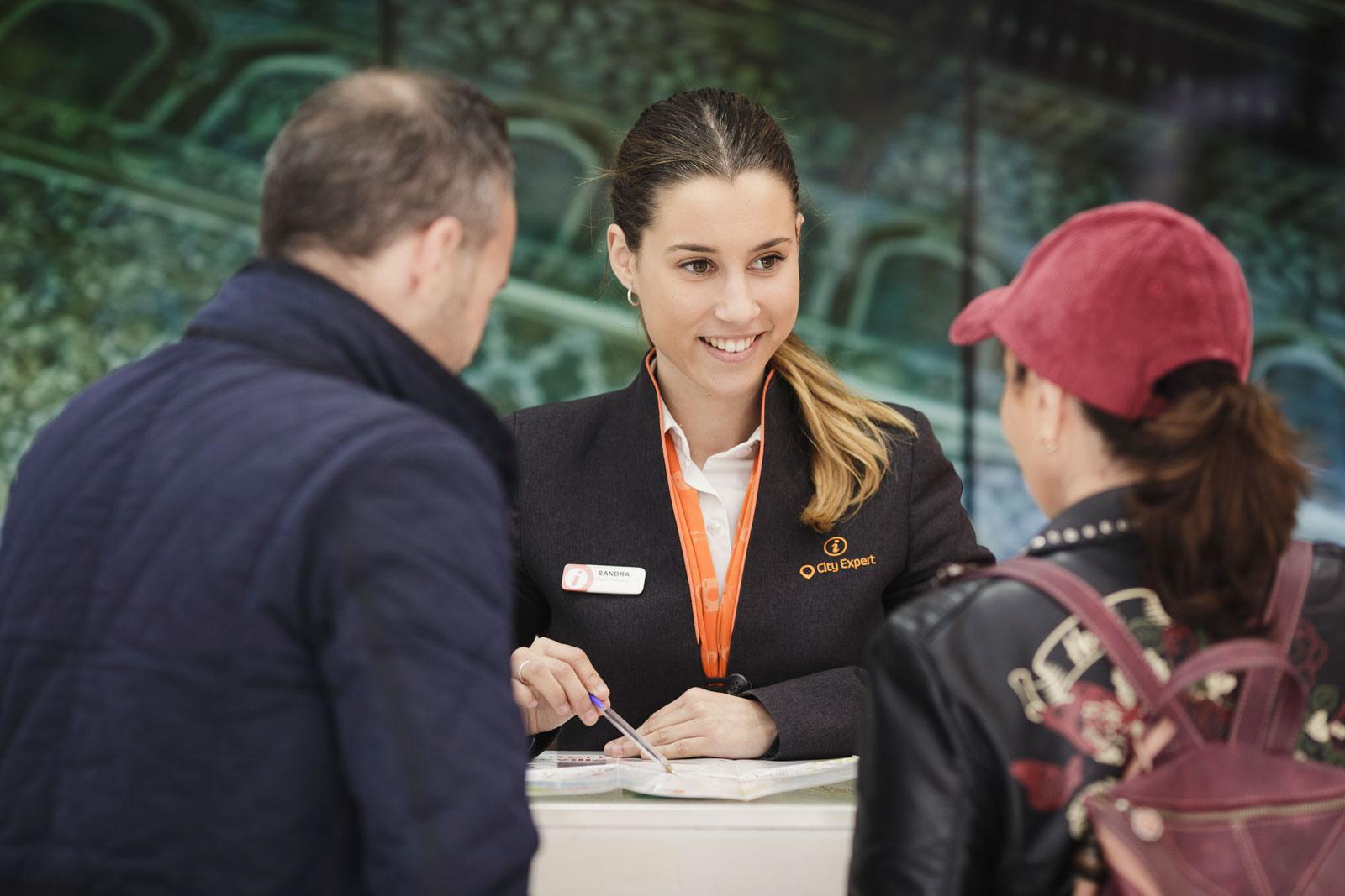 city expert visitors centre