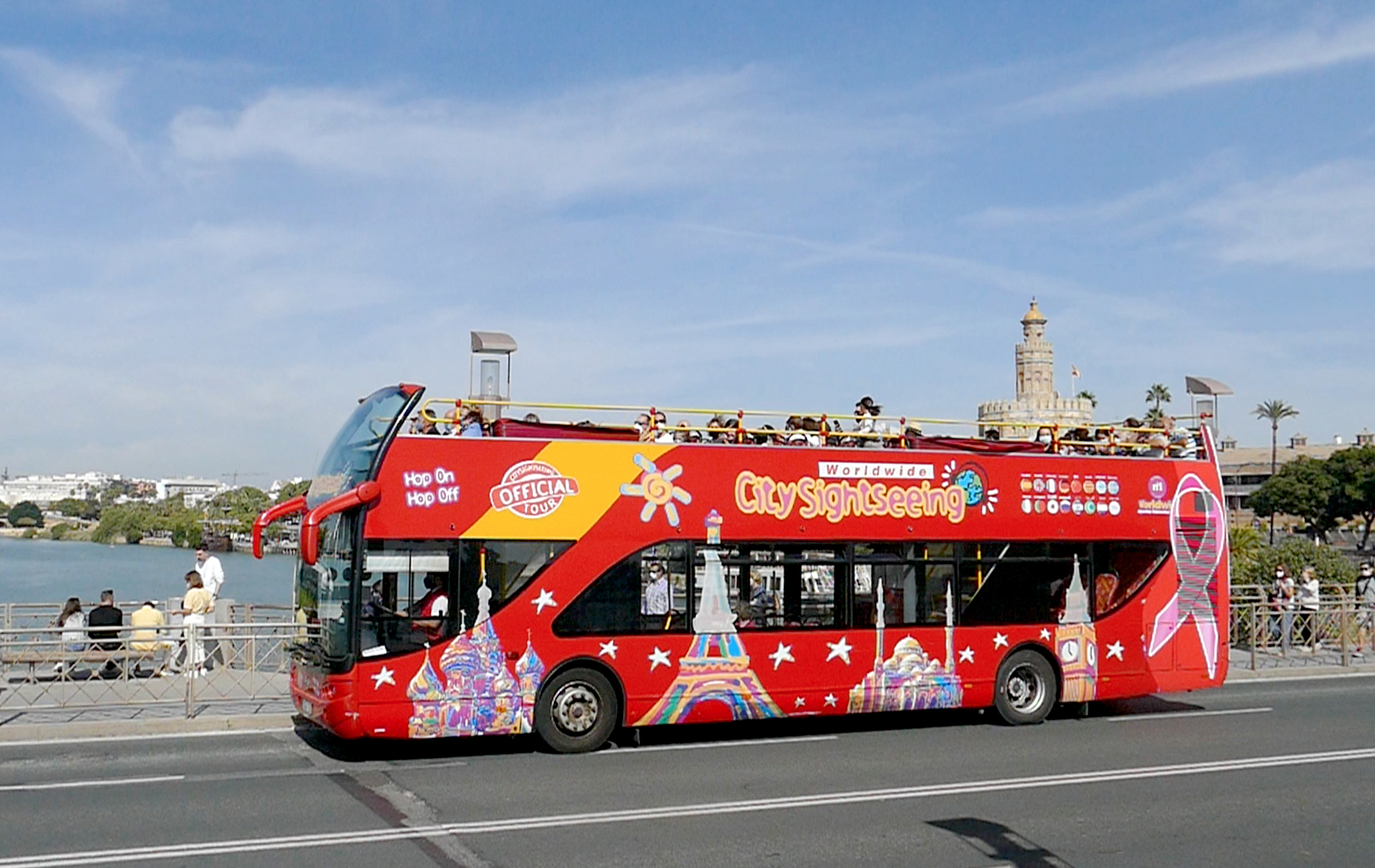 city sightseeing sevilla lazo rosa