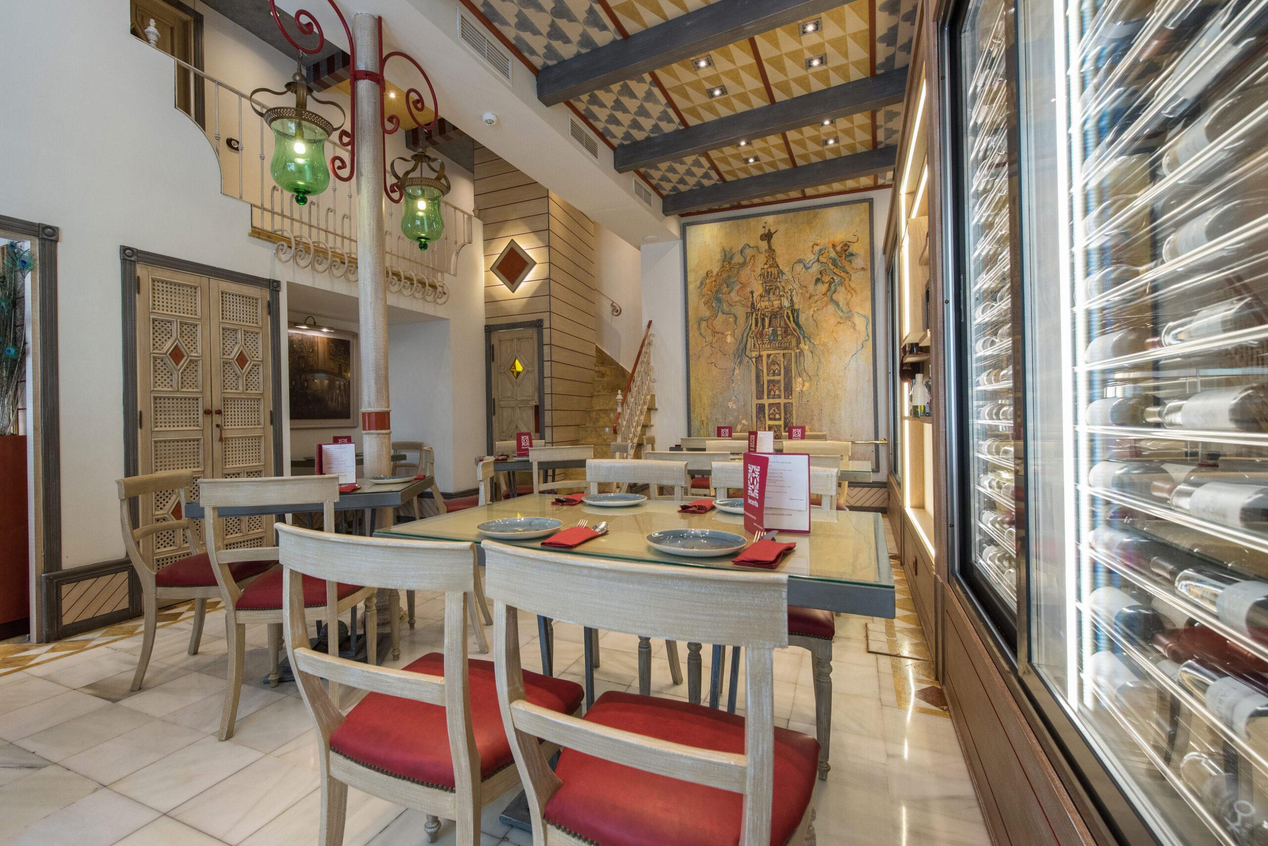 restaurante becerrita sevilla decoracion