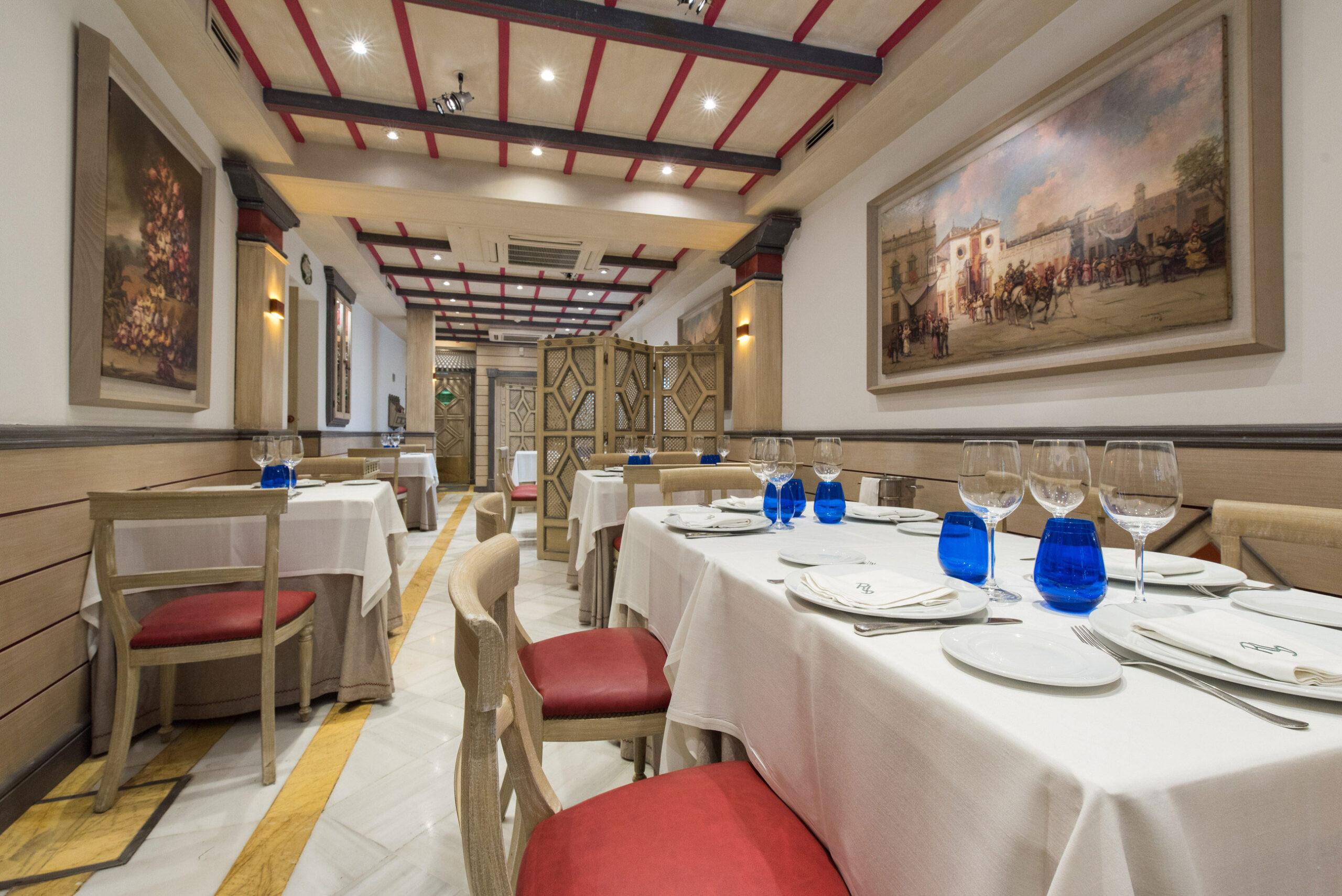 restaurante becerrita sevilla comedor