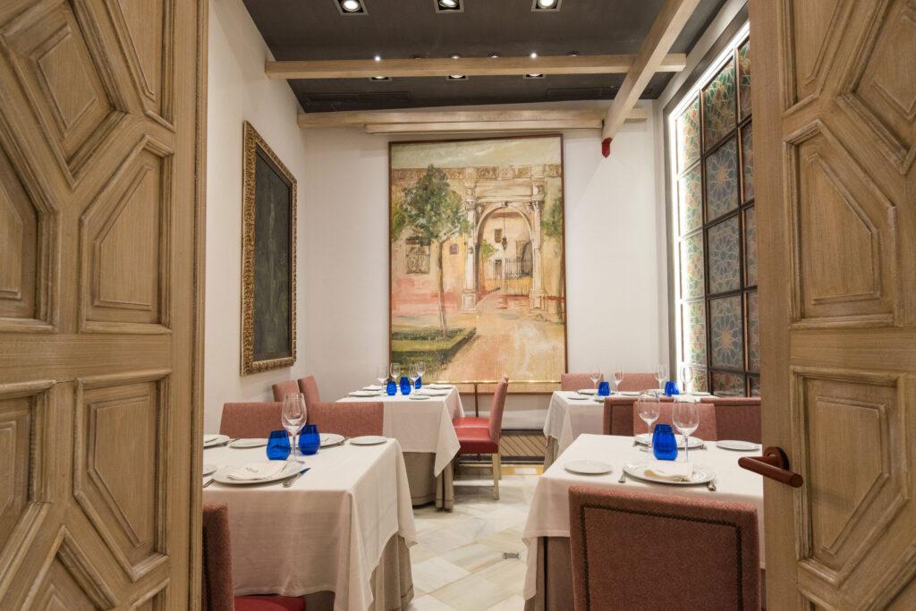 restaurante becerrita sevilla comedores